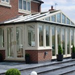 PVCu French Doors in Conservatory