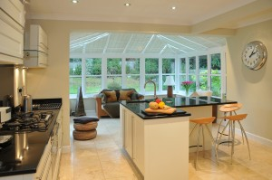 Conservatory installed