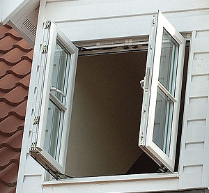 PVCu French Windows